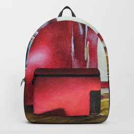 Night Out Cologne Bottle Art Backpack