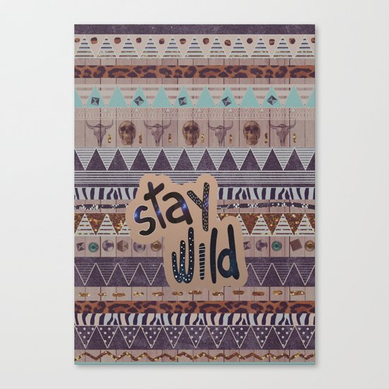 GIPSY SPELL  Canvas Print