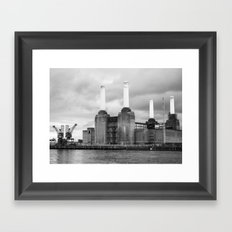 Battersea Power Station II Framed Art Print