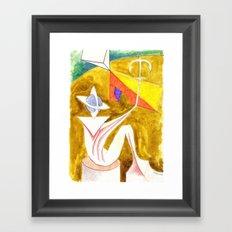 Anchoring the Sky Framed Art Print