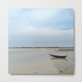 Peaceful Low Tide Metal Print