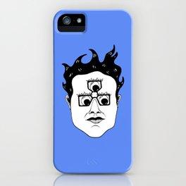 Gool Third Eye Pince Nez iPhone Case