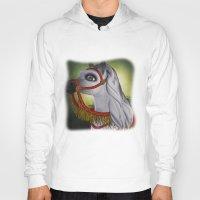 carousel Hoodies featuring Carousel by Texnotropio