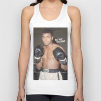 ali gulec Tank Tops featuring Ali #1 by YBYG