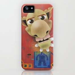 Jack in the Box iPhone Case