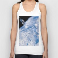 ice Tank Tops featuring Ice by Euan Anderson