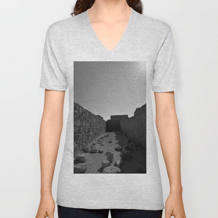 Masada Unisex V-Neck