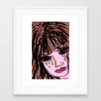 doll Framed Art Prints featuring doll by sladja