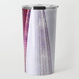 Hibiscus Across Time And Space Travel Mug