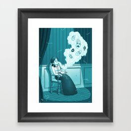 Medium and Ectoplasm Framed Art Print
