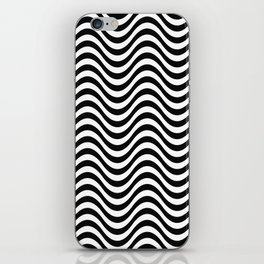 Black and White Pattern VI iPhone Skin