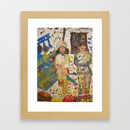 Chef & Sous-Chef Framed Art Print