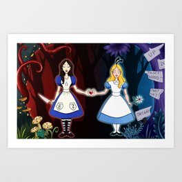 Bound By Wonderland Art Print