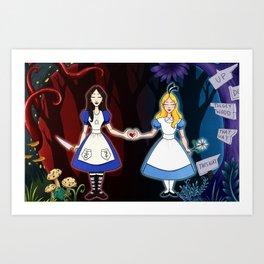 Bound By Wonderland Art Print