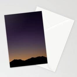 Gloaming Gradient Stationery Cards