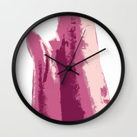 lungs Wall Clocks featuring Lungs by Joe St Hilaire