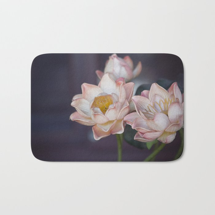 Lovely Water Lily II Bath Mat