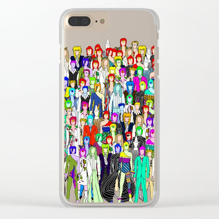 Tokyo Punks One Clear iPhone Case