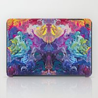 notebook iPad Cases featuring Guardian's Notebook by Tanya Shatseva