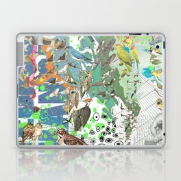 Bird Grid Paste Up 2 Laptop & iPad Skin