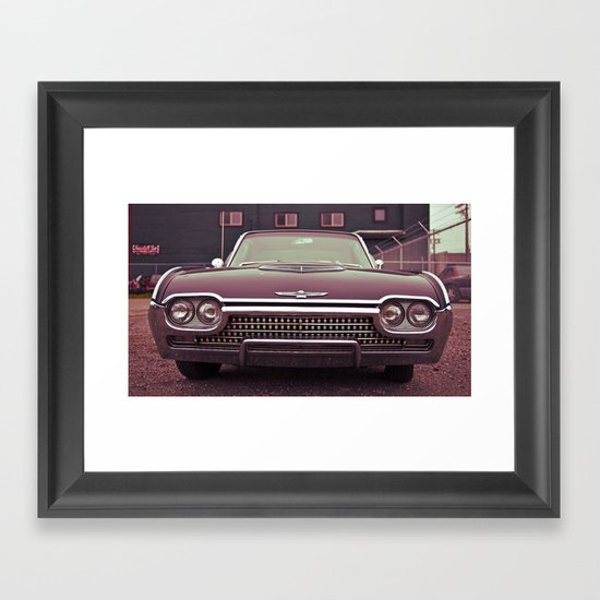 American T-bird Framed Art Print