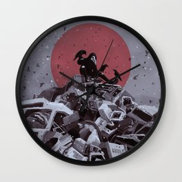 Scavenger Wall Clock