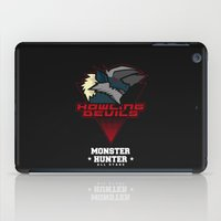 monster hunter iPad Cases featuring Monster Hunter All Stars - Howling Devils by Bleached ink