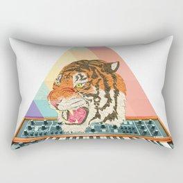 Tiger Synthesizer Rectangular Pillow