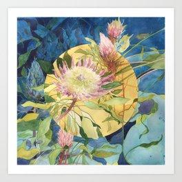 Tropical Wonders Art Print