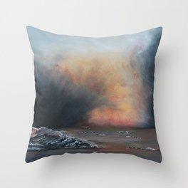 Iceland-GerlindeStreit Throw Pillow