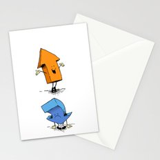 up n down show (alternate version) Stationery Cards