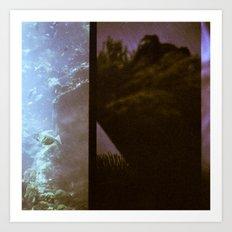Aquarium Lomography Art Print