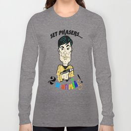 To Boldly Go...  Show your Pride and be STUN-NING! Star Trek's Sulu/George Takei Long Sleeve T-shirt