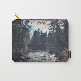 forest by the river Carry-All Pouch