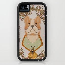 Sgt. Stubby Ultimate Boston Terrier Good Boy WWI Hero With Confetti iPhone Case