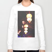 lanterns Long Sleeve T-shirts featuring Lanterns by Kaartik Gupta