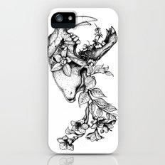 Prehistoric Bloom - The Cat iPhone (5, 5s) Slim Case