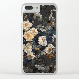 Midnight Garden XII Clear iPhone Case