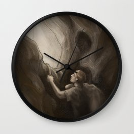 Out of the Dark Wall Clock
