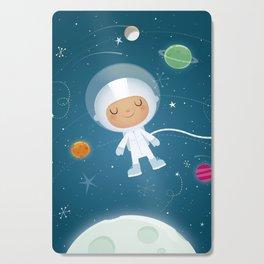 Little Astronaut Cutting Board