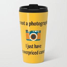 I'm not a photographer Travel Mug
