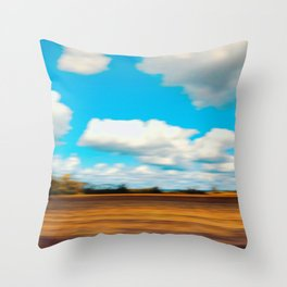 Surreal Countryside 1 Throw Pillow