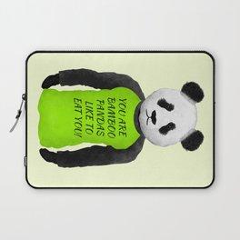 Panda You are Bamboo Laptop Sleeve