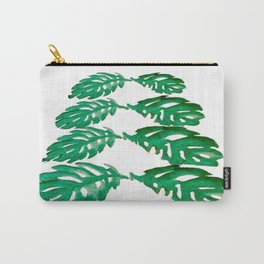 Holiday Tree Leaves perfect for a card Carry-All Pouch