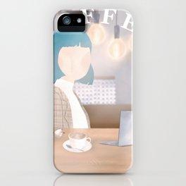 Internet Cafe iPhone Case