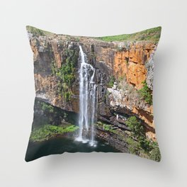 Beautiful Berlin Falls, South Africa Throw Pillow