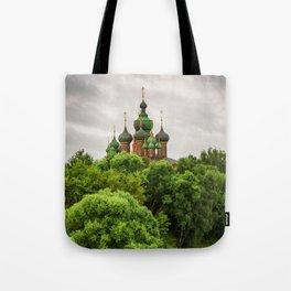 St. John the Baptist Church in Yaroslavl Tote Bag