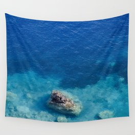 Sea with Clear Blue Waters Wall Tapestry
