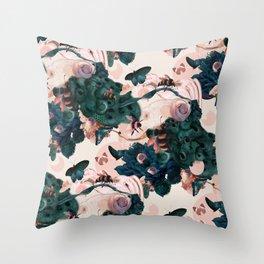 Hive Throw Pillow