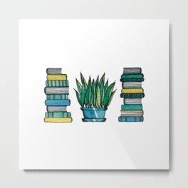 Greenbooks Metal Print